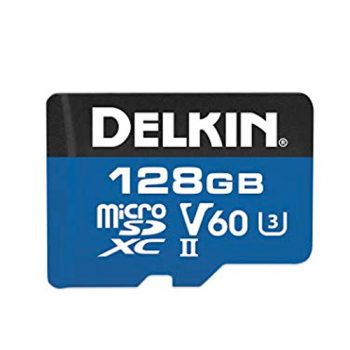 Delkin 1900x 128 Gig SD Card For Blackvue DR900s Range