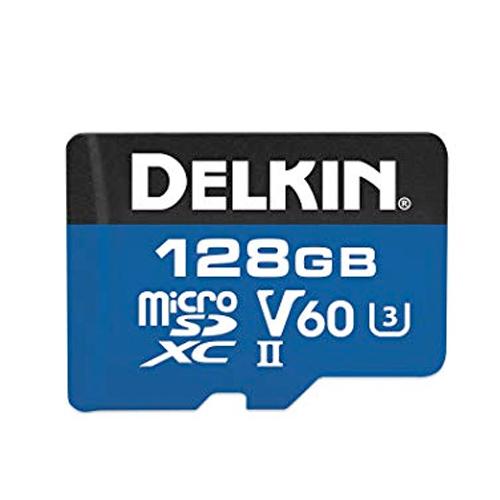 Delkin 1900x 128 Gig SD Card For Blackvue DR900s Range