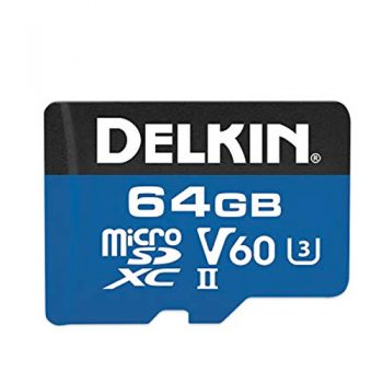 Delkin 1900x 64 Gig SD Card For Blackvue DR900s Range