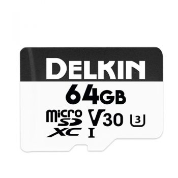 Delkin 660x - 64 Gig SD Card For Blackvue DR750s Range