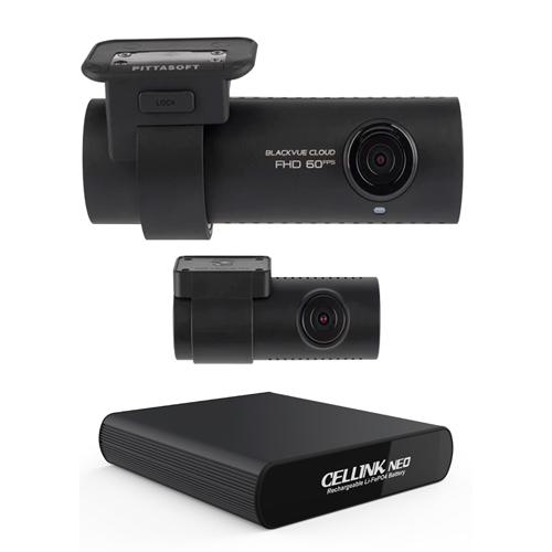Blackvue DR750s 2CH and Cellink NEO 6 Battery Pack
