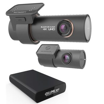 Blackvue DR900s 2CH With Neo 9 Battery Pack