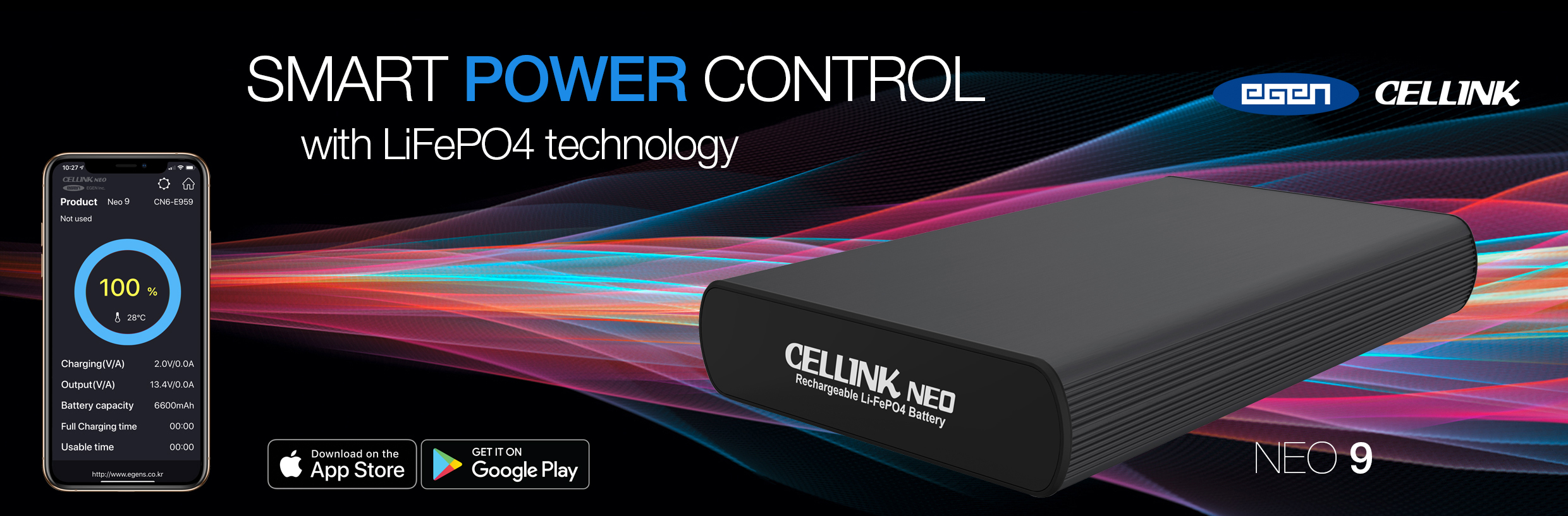 CELLINK NEO 9 The Ultimate Supplementary Dash Cam Power Source.