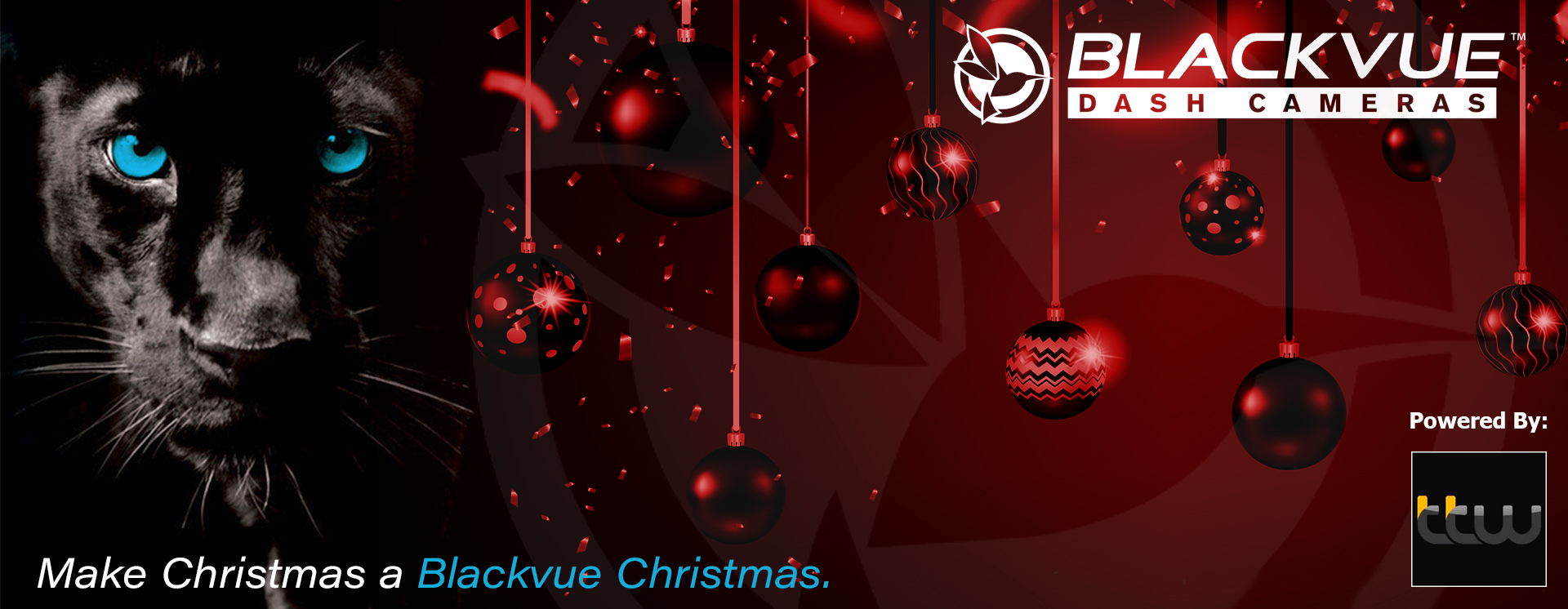 Blackvue Christmas Banner