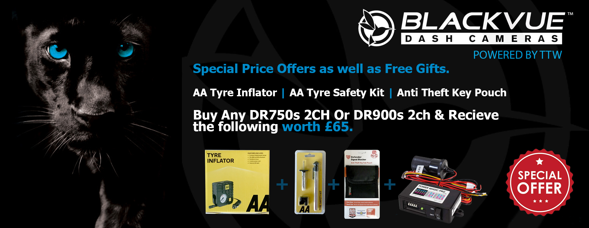 Blackvue UK - Dash Camera Specialists & Installations - TTW