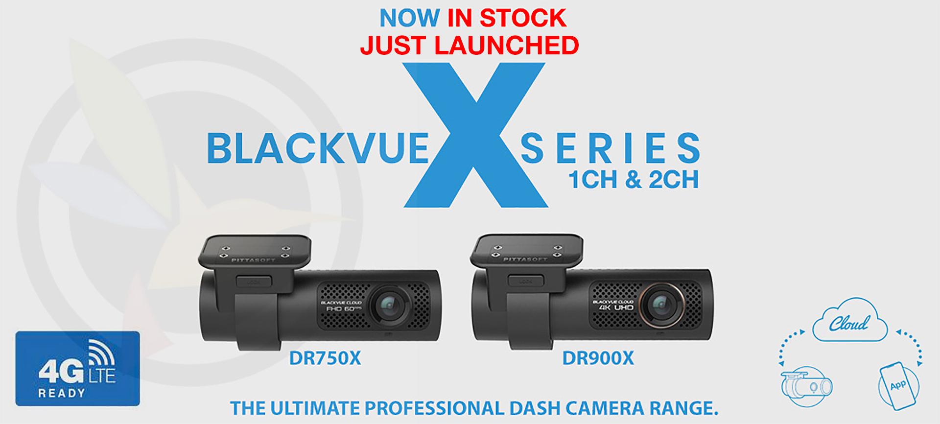 Blackvue New X Series Dash Camera Range