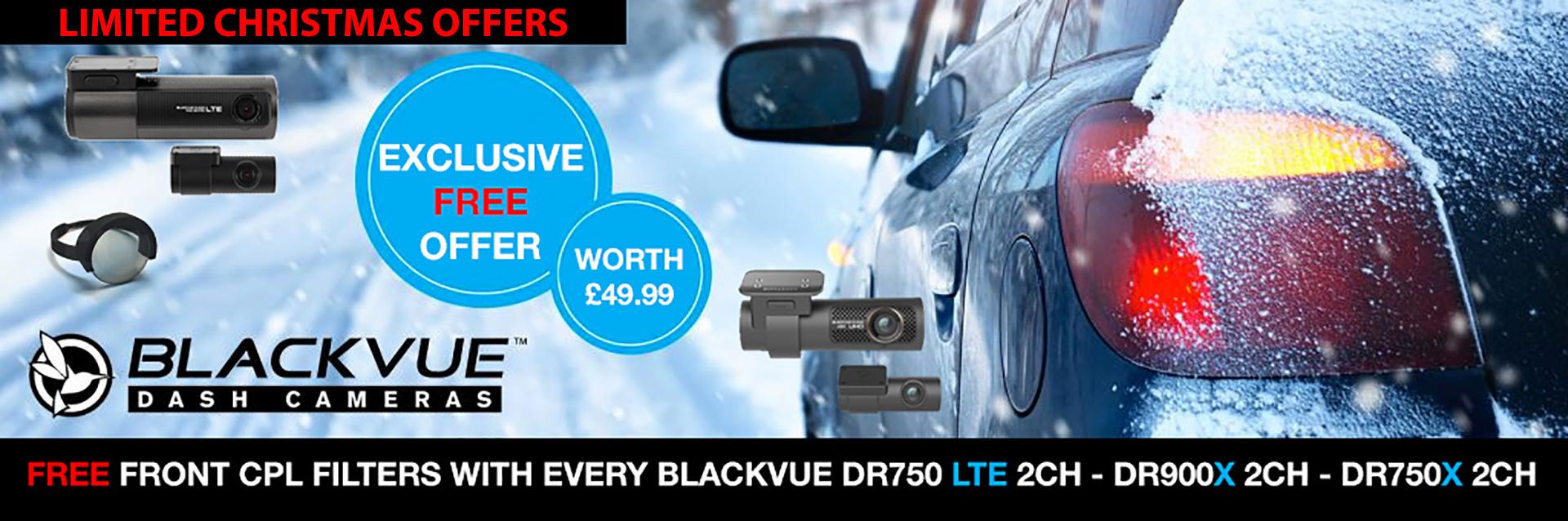 Blackvue UK Sales - Christmas Offers From TTW