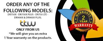Blackvue Dash camera Exclusive 2 year Warranty