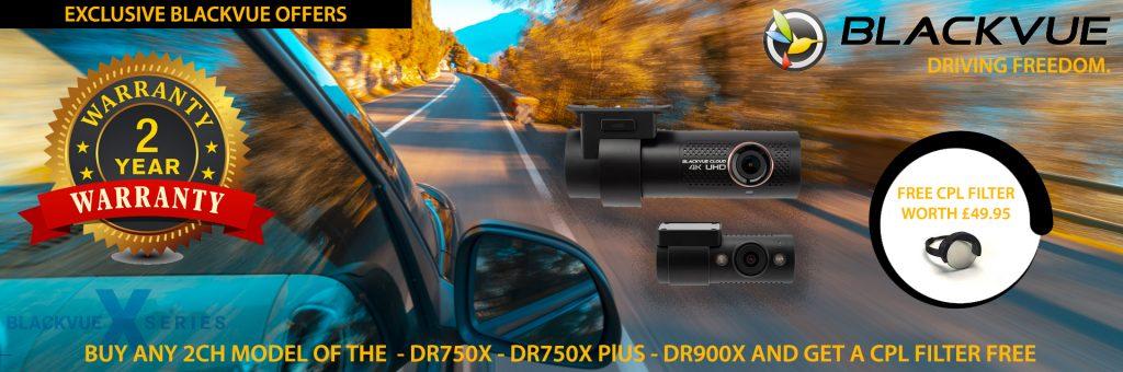 Blackvue Dash cameras - 2 Year Warranty Only From TTW
